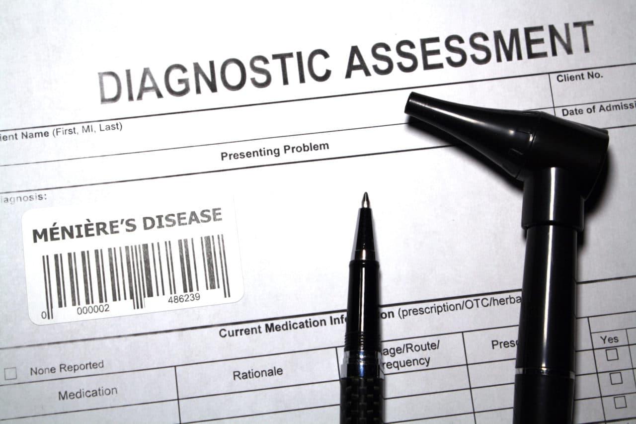 Otolaryngology diagnostic assessment abstract - Ménière's disease