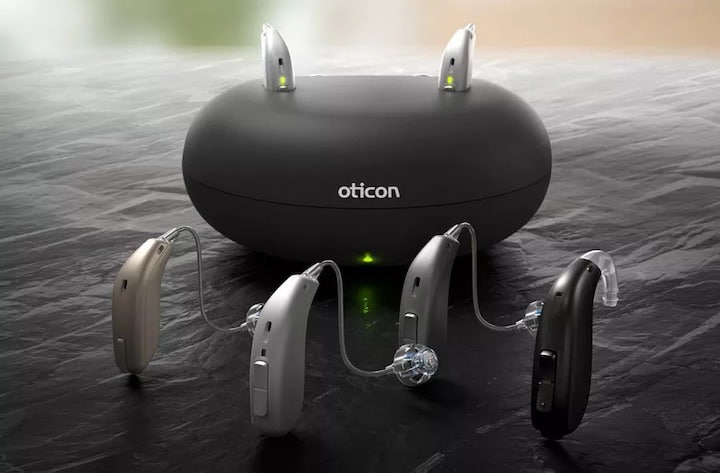 different kinds of oticon hearing aids